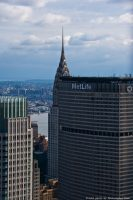 The Chrysler Building and the MetLife Tower